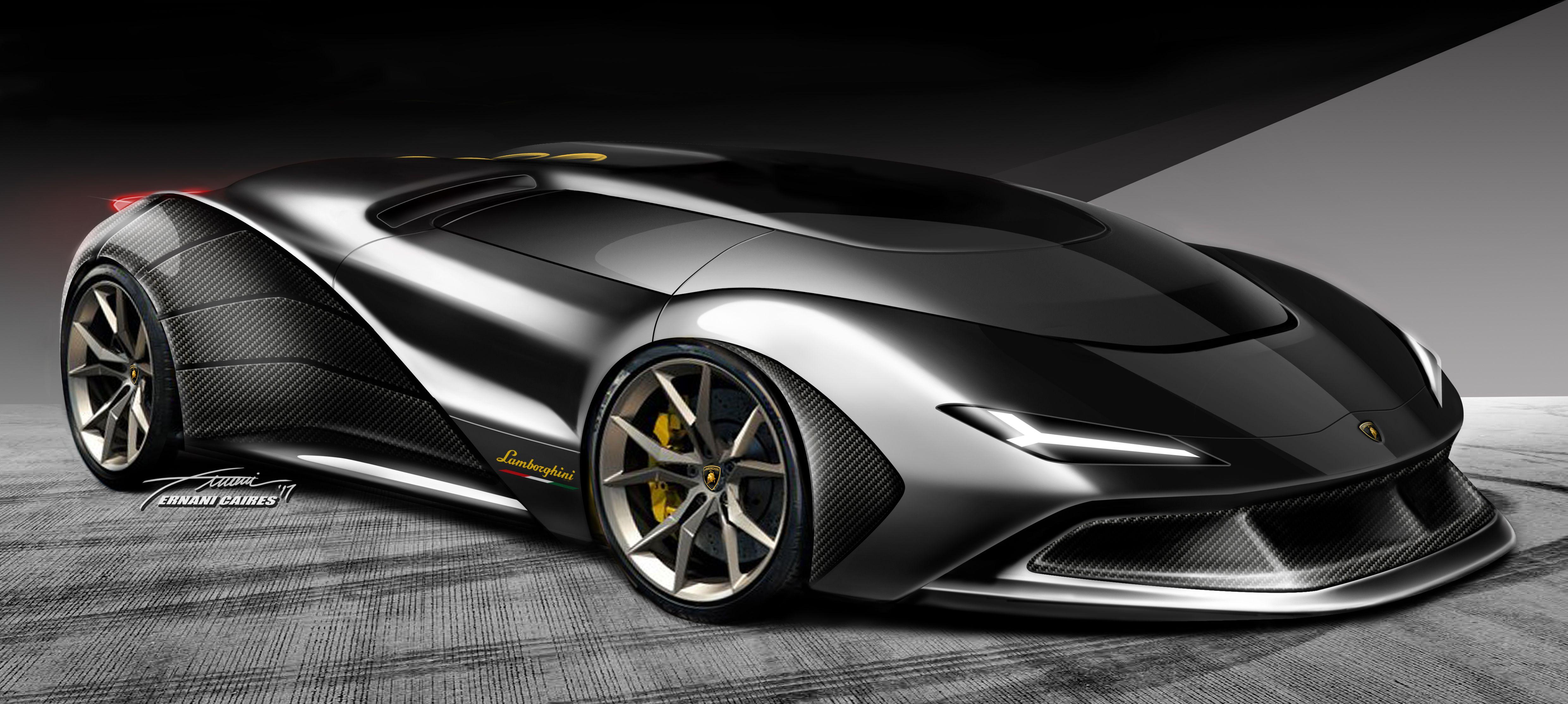 Lambo design by Ernani Caires Desenhos de carros