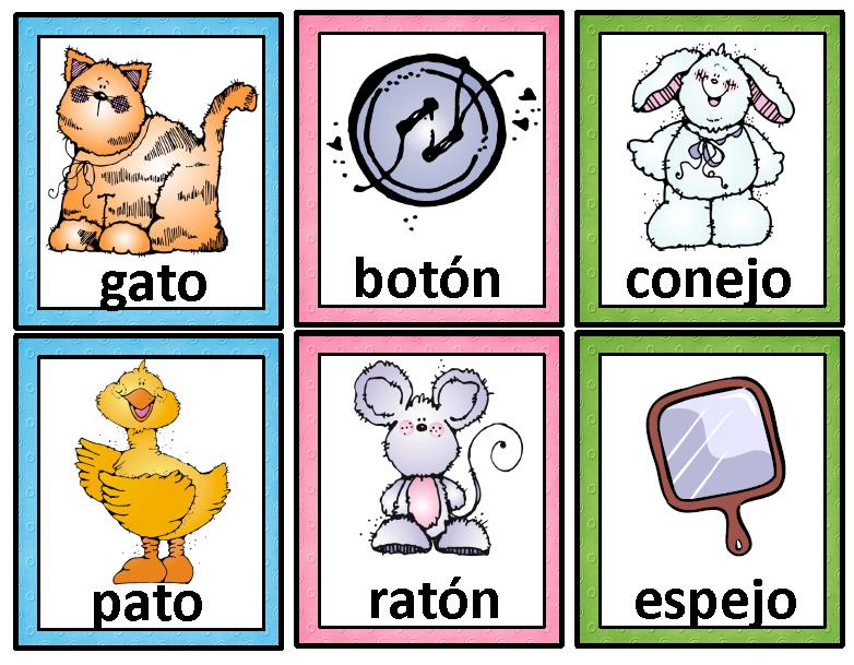 Rimas Tarjetas De Palabras Que Riman Spanish Rhyming Cards Palabras Que Riman Rimas Infantiles Y Recursos De Ensenanza De Espanol