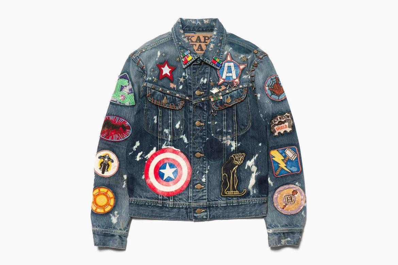 Kapital Marvel Unleash Heroes And Villains Denim Jackets Marvel Jacket Marvel Clothes Denim Jacket [ 779 x 1170 Pixel ]