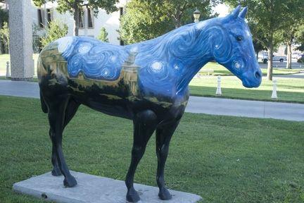 Hoof Prints of the American Quarter Horse Horses
