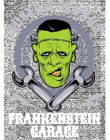 Frankenstein Garage Biker Vault Boy Frankenstein