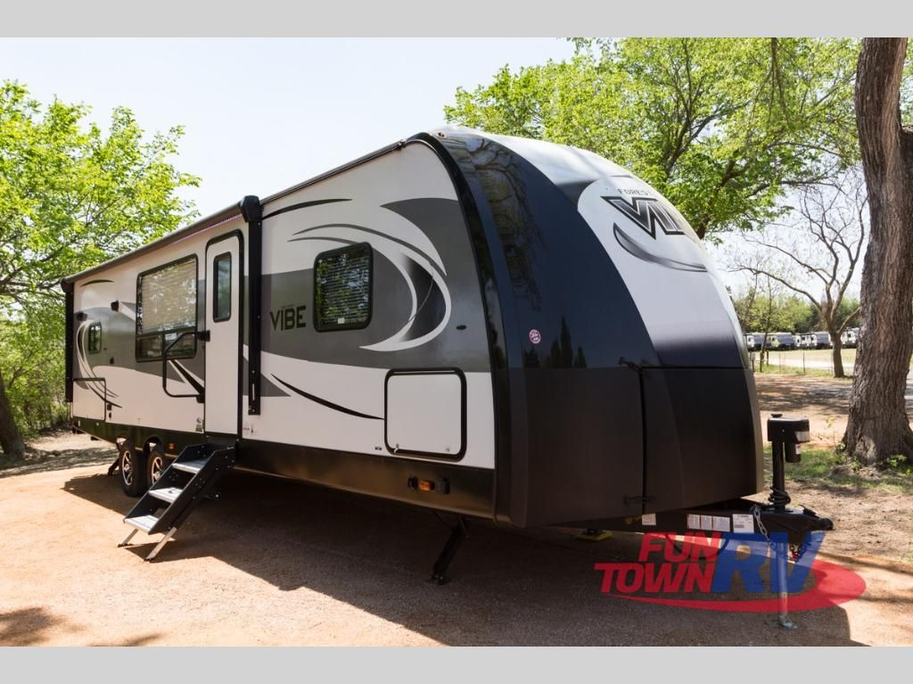 New 2018 Forest River Rv Vibe 268rks Travel Trailer At Fun Town Rv