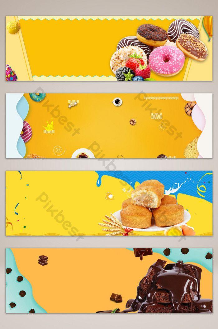 Spanduk Makanan Ringan - desain banner kekinian