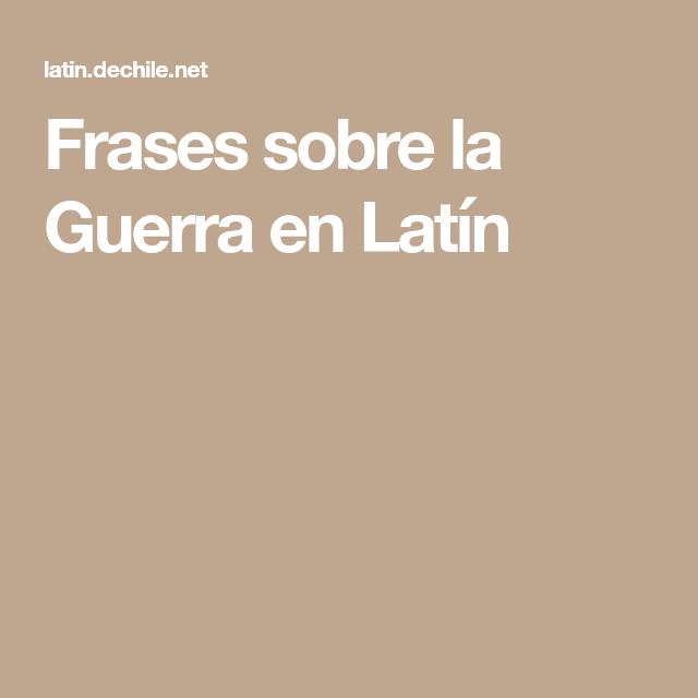 Pin En Frases Y Citas En Latínfilósofospoetas