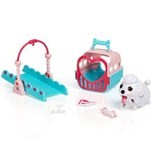Chubby Puppies Beagle Puppy Tunnel Playset Plus Carrier