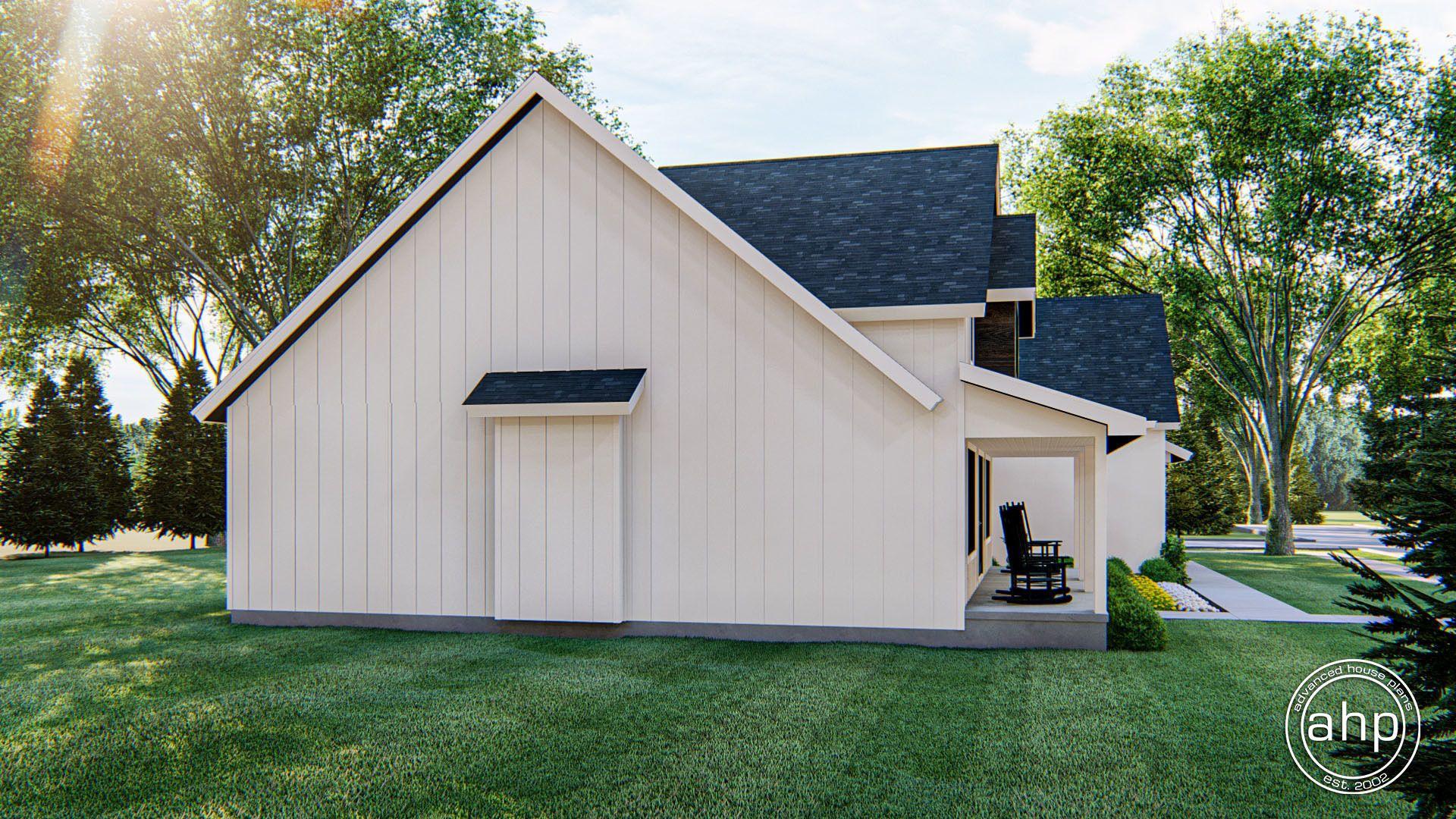 1 Story Modern Farmhouse Plan Woodcliff in 2020 Modern