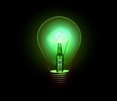 #Heineken #design bulb