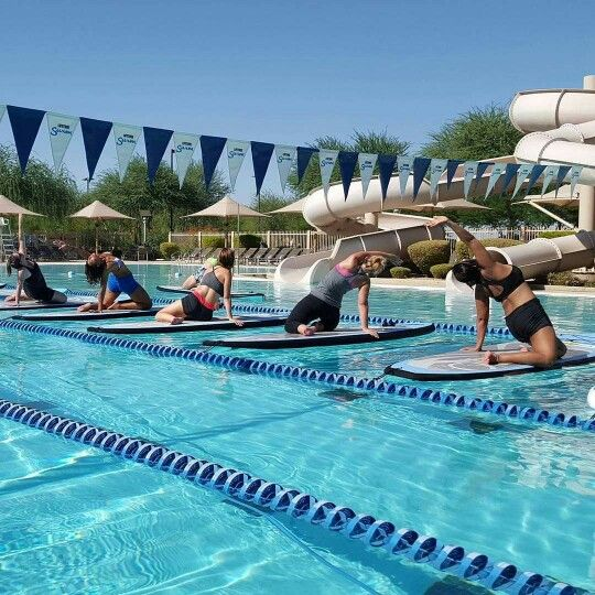 Arizona sup yoga weekend september 19th and 20th for Tempe swimming pool