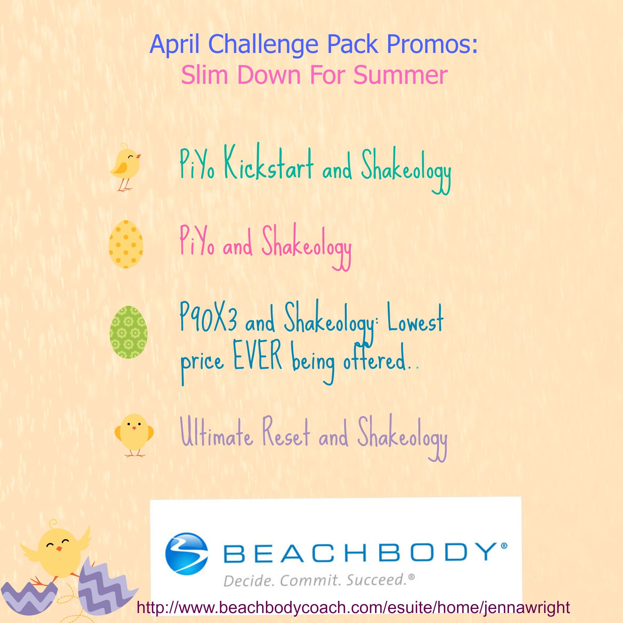 April Challenge Pack Promotions P90x3 Is Being