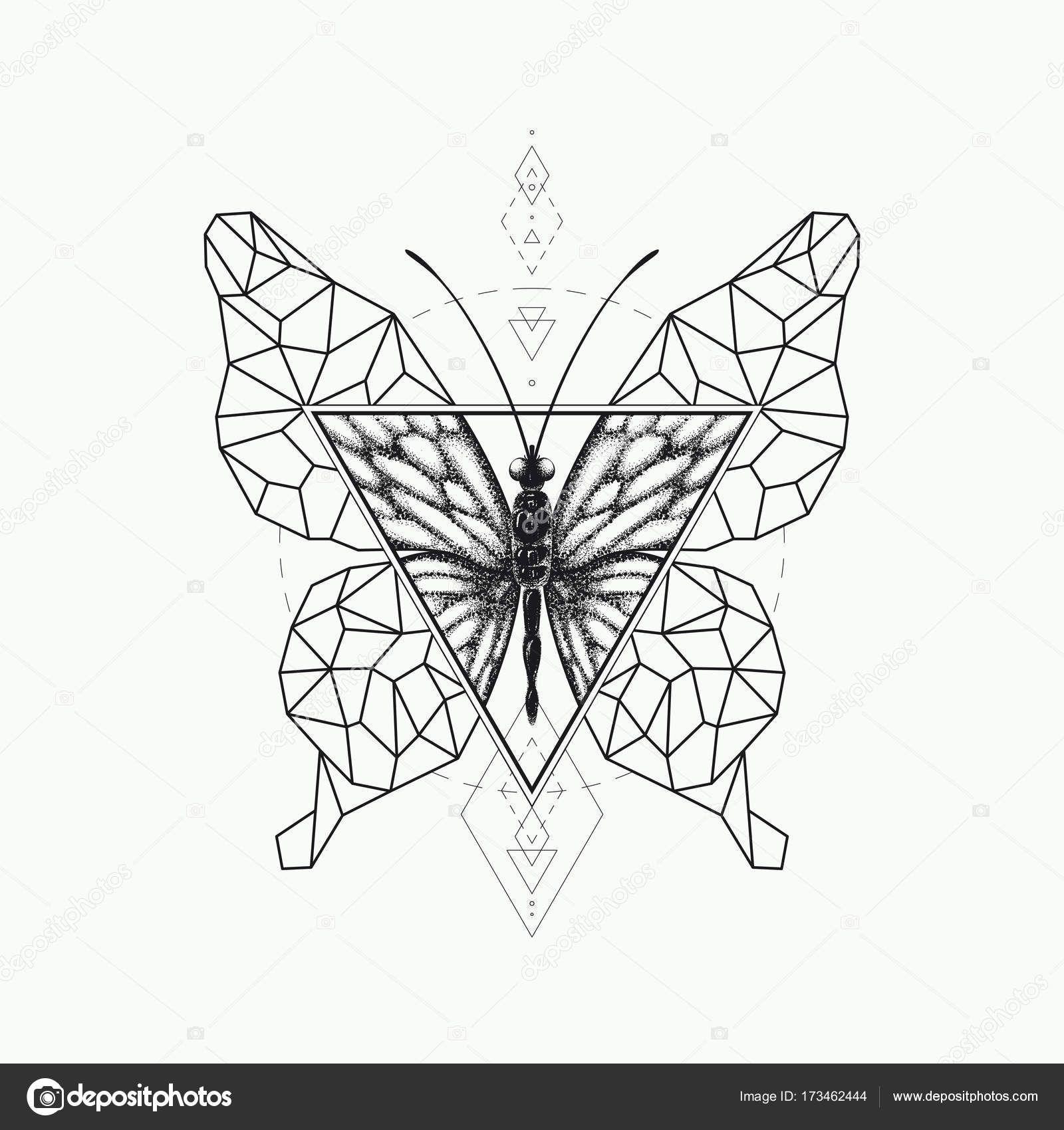 Resultado De Imagen De Mariposa Geometrica Forma Geometrica Imagenes De Mariposas Geometrico
