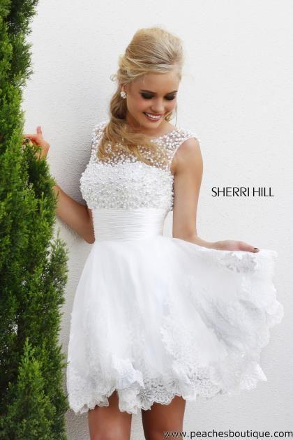White Winter Formal Dresses - Artee Shirt