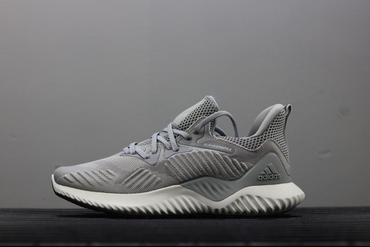 online store 1989c ef950 adidas AlphaBounce Beyond Triple Grey For Sale