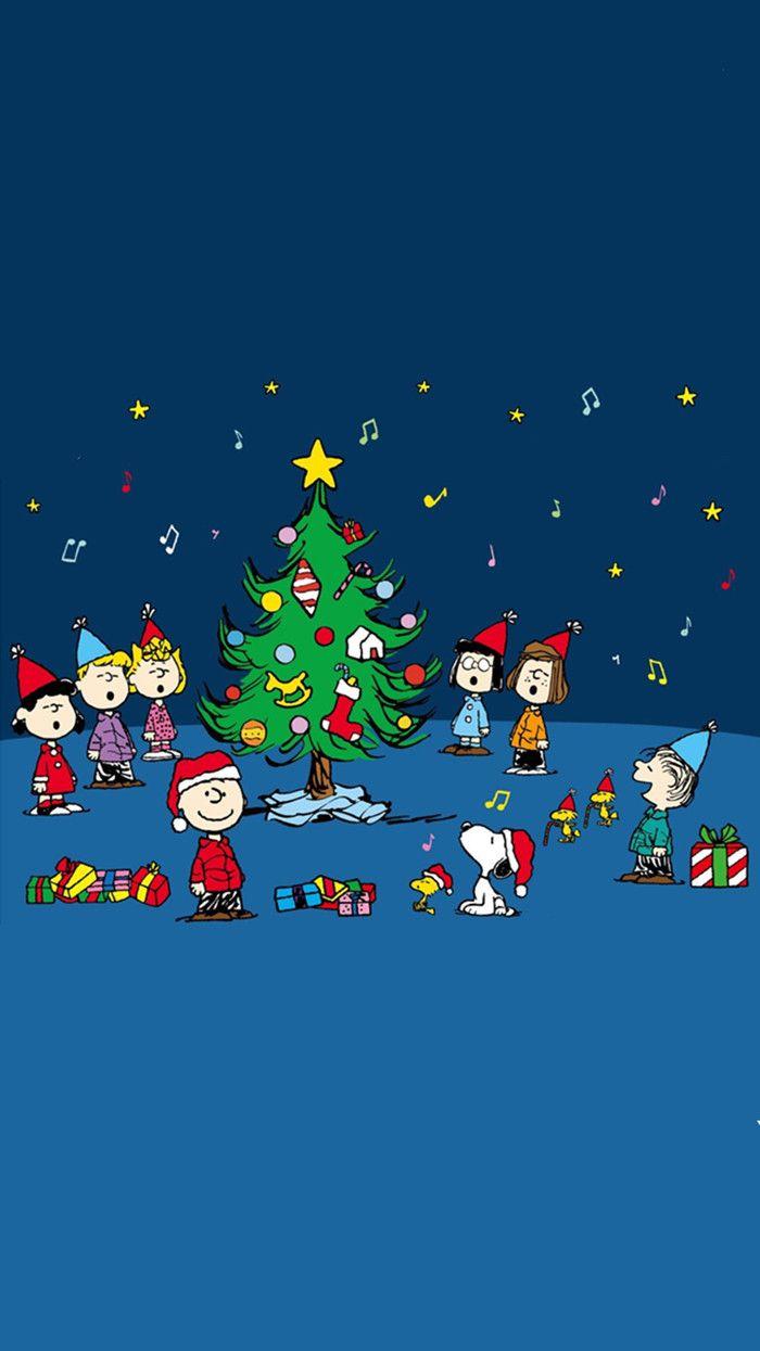 Snoopy Christmas iPhone wallpaper | Seasons | Pinterest | Snoopy ...