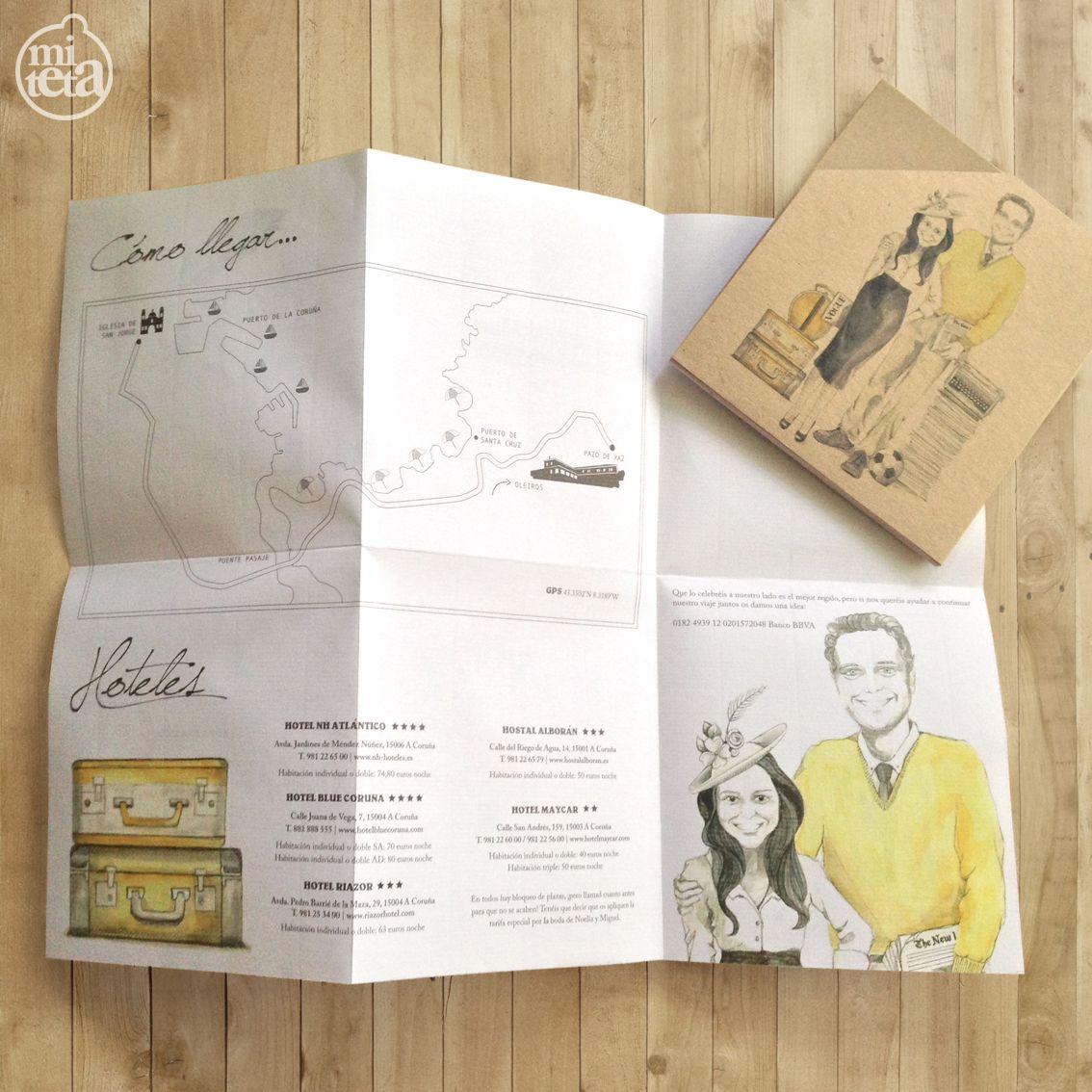 Unas invitaciones de boda muy teta!   Pinterest   Invitaciones de ...