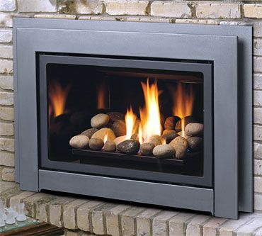 Gas Log Fireplace Insert Kastle Fireplace Gas Inserts Capella