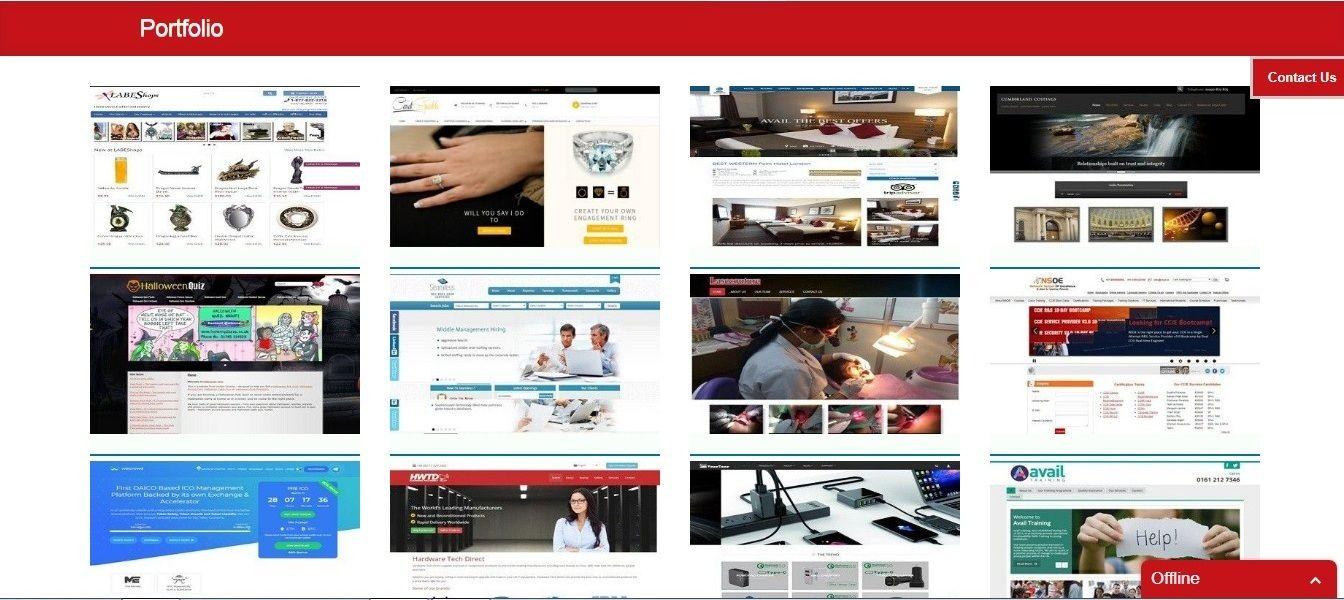 WEB DESIGN, DEVELOPMENT & Digital Marketing For instant