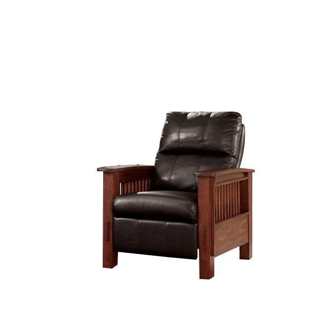 Mission Style Recliner Chair High Leg Recliner Mission Furniture Ashley Furniture