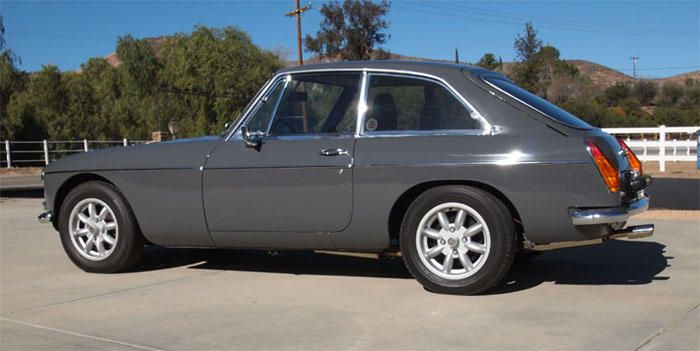 1968 MG MGB GT (GHD4U156332G) : Registry : The AutoShrine