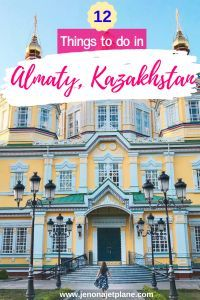 Photo of A Gateway to Central Asia: 12 Best Things to do in Almaty, Kazakhstan – Jen on a…