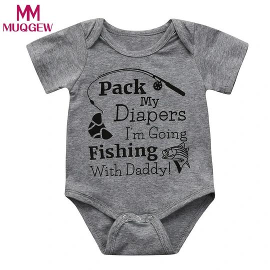 Baby Boy Girl Short Sleeve Romper Bodysuit Summer Infant Clothes Oufit Sunsuit
