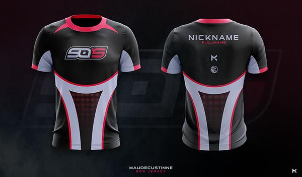 Download Jersey Esport Team Mockup On Behance Sport Shirt Design Sports Jersey Design Jersey Design
