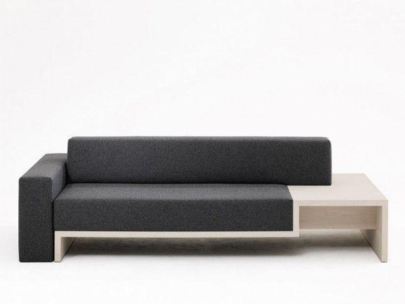 Sofa Table 2 In 1 Minimalist Furniture Design Modern Sofa Designs Office Sofa Design