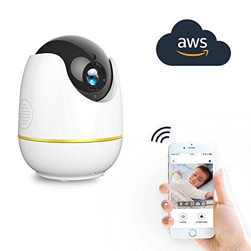 NETVUE 720P Full HD WiFi Caméra de Sécurité IP Avec Alarme de