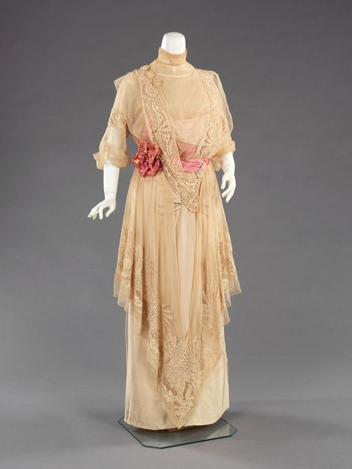 Jeanne Paquin, evening gown, 1912.