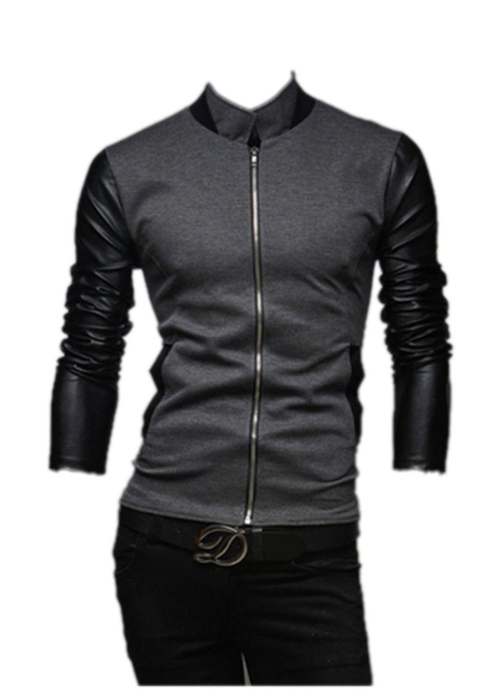 QualityUC Mens American Clothes Fashion Zipper Lightweight Jacket