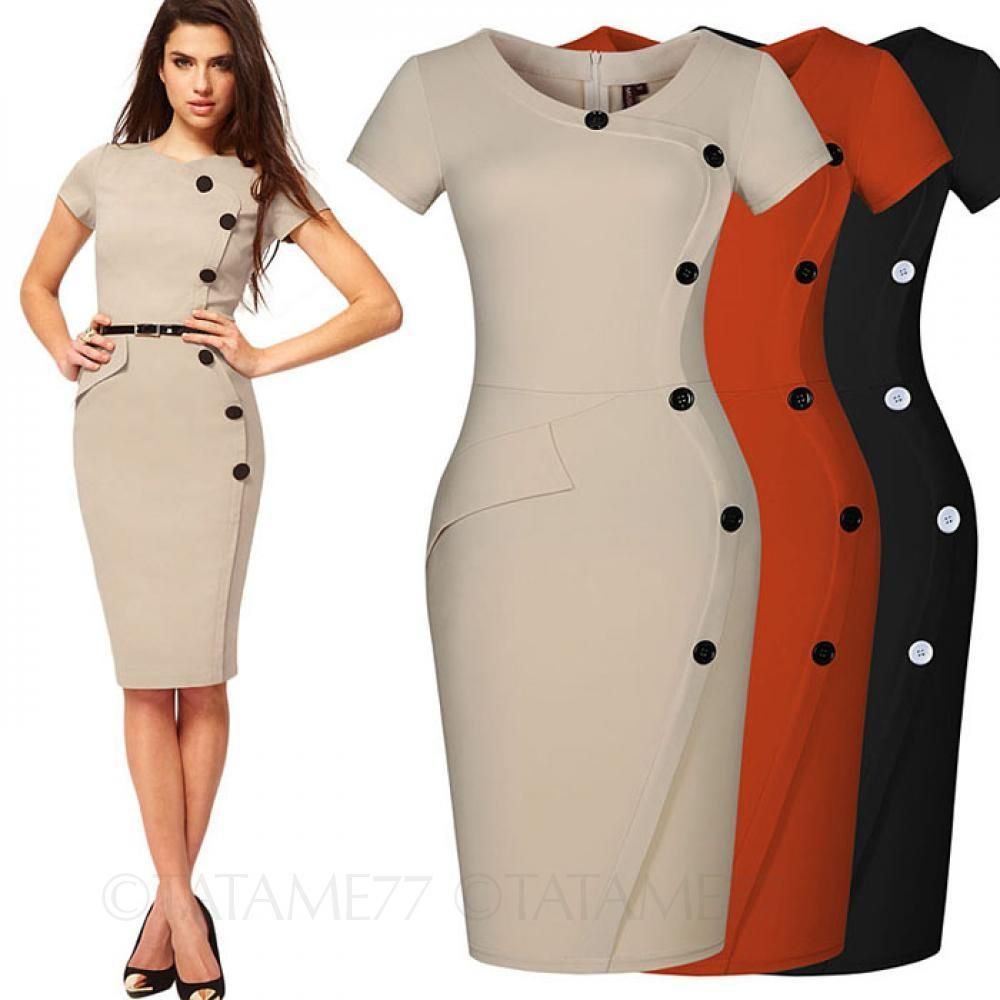 Tata Womens Vintage Office Fashion Ladies Victorian Celebrity Bodycon Dress Size Bodycon Fashion Womens Vintage Dresses Fashion [ 1000 x 1000 Pixel ]