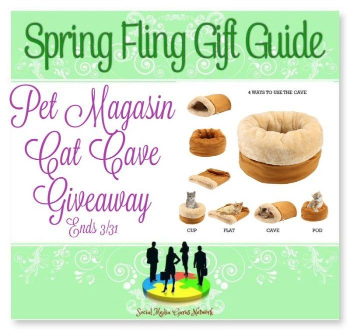 Spring Fling Gift Guide – Pet Magasin Cat Cave Giveaway! US 3/31 #catcave #pet #giveaway