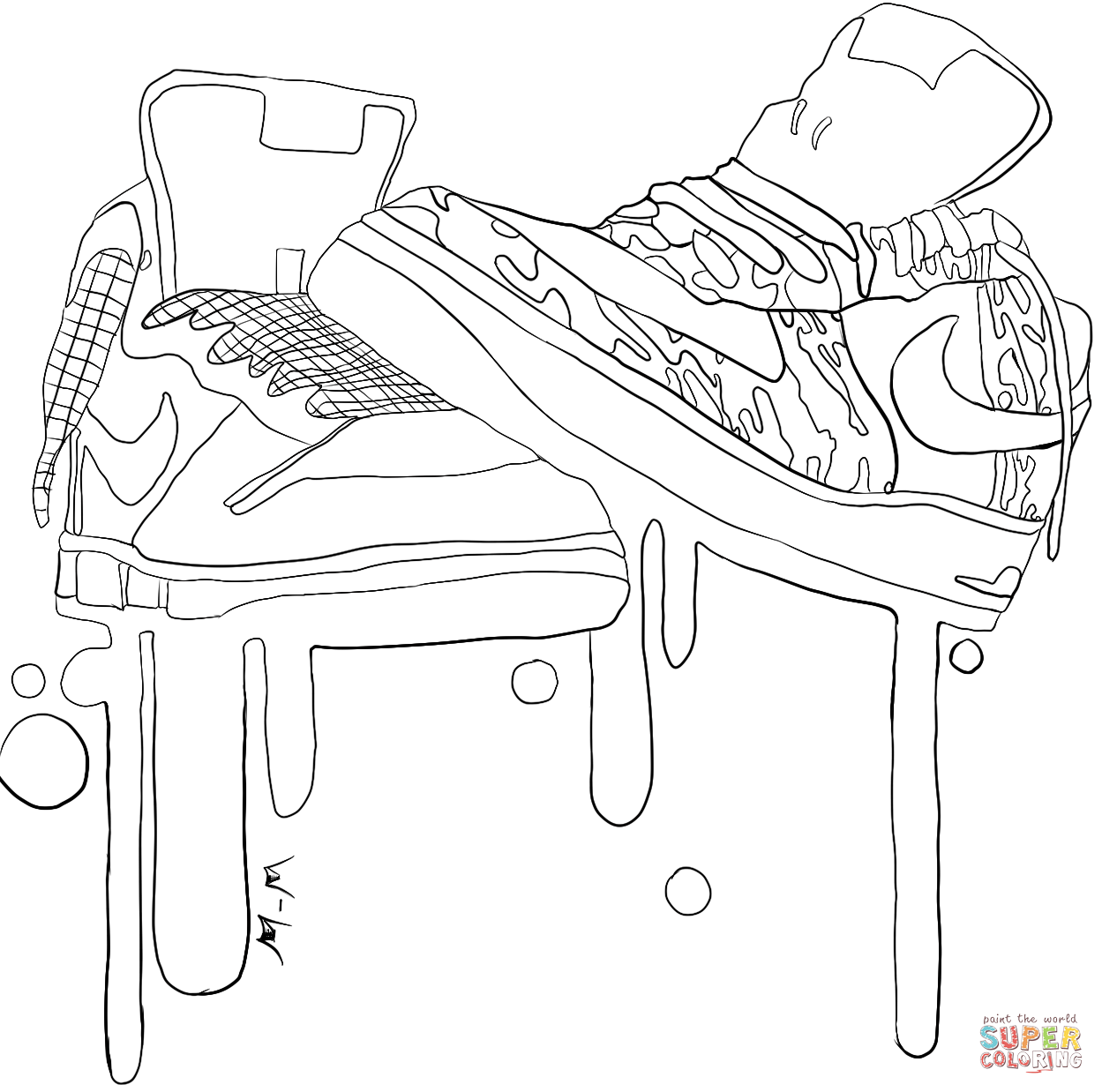 - Clothes And Shoes Coloring Pages Free Coloring Pages Cartoon