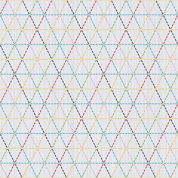 Tissage Motif De Sashiko Japonais Motif Uniforme Vecteurs libres de droits et plus dimages vectorielles de Abstrait