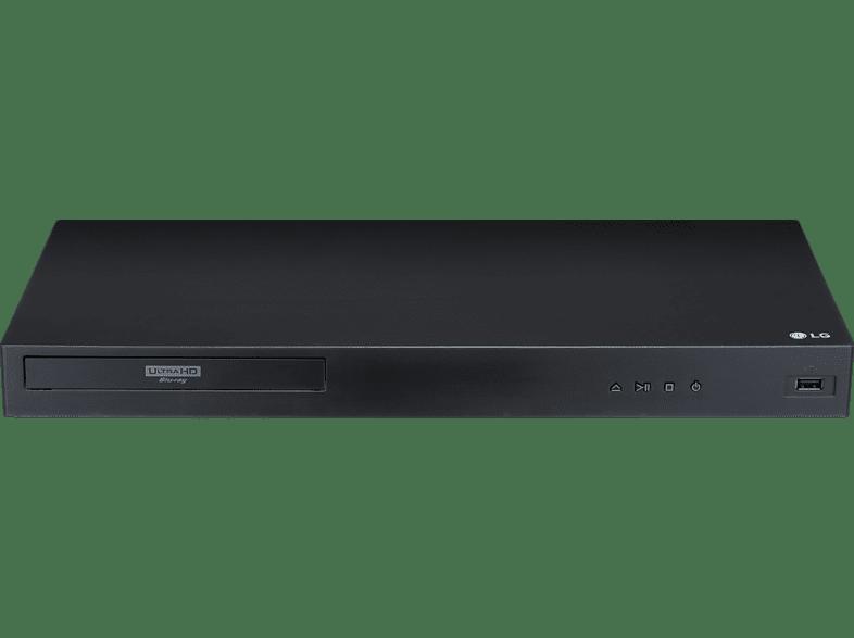Lg Ubk80 Ultra Hd Blu-ray Player (schwarz) ,schwarz