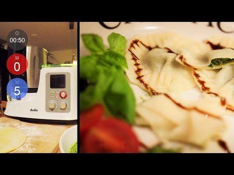 Italienische Pasta - Nudelteig herstellen (ohne Ei) Neues Rezept - küchenmaschine studio aldi