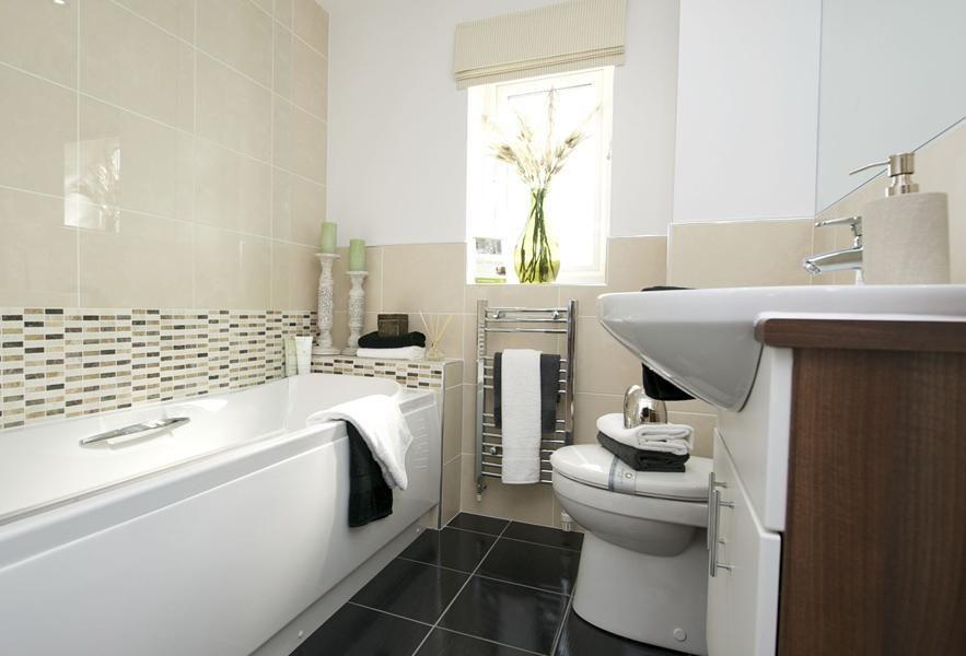 Barratt Homes Morpeth Show Home Bathroom