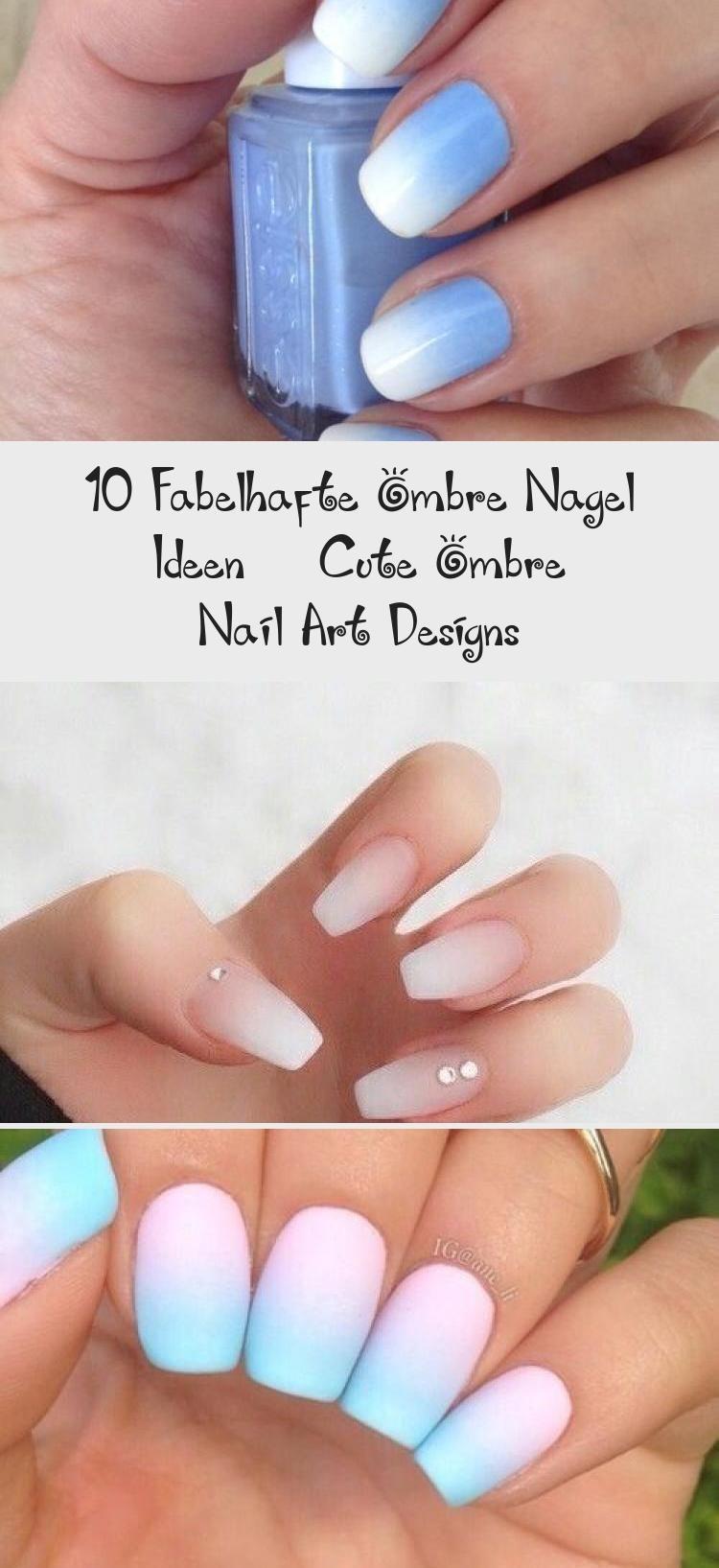 nagel legergroen #nails #nagel 10 fabelhafte Ombre Nagel Ideen - Cute Ombre Nail Art Designs #designs #fabelhafte #ideen #nagel #ombre #nagelVorm #nagelVerzorgen #nagelSummer #nagelLegergroen #nagelLackieren