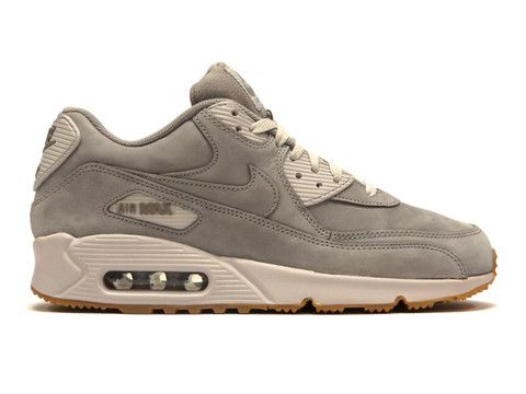 Nike Air Max 90 Winter Premium Grey / Gum Sole #nike #sneakers #fashion
