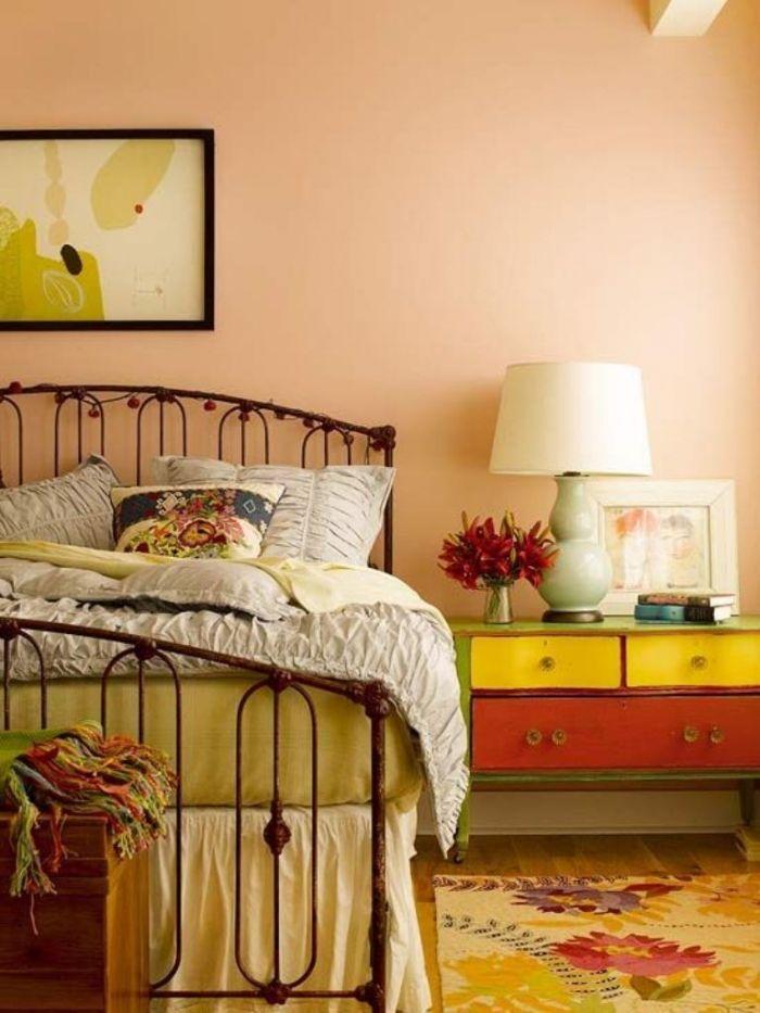 light color peach bedroom | bedroom | bedroom orange, peach
