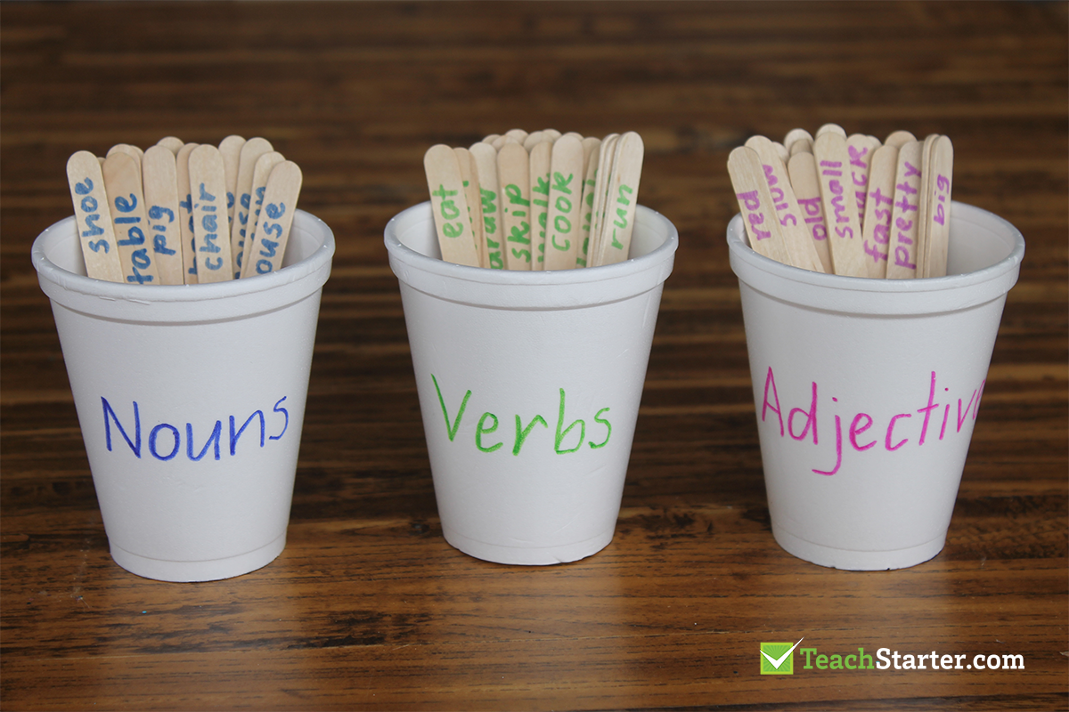 9 Clever and Creative Ways to Use Craft Sticks in the Classroom   Teach Starter %