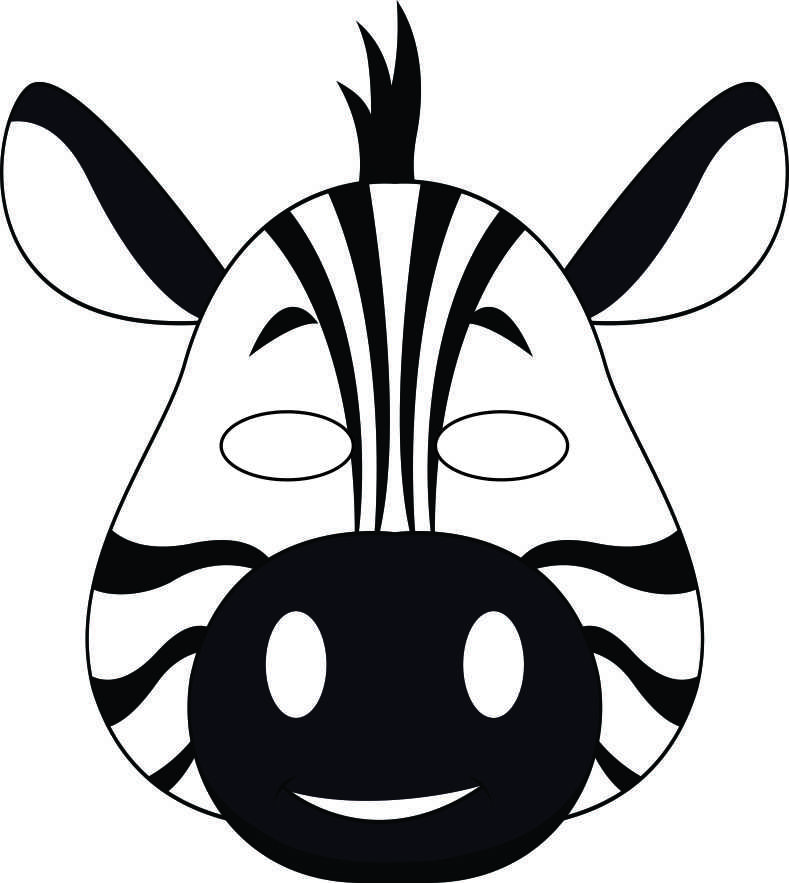It is an image of Impertinent Animal Mask Templates