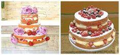 -Cómo Montar una Torta Desnuda - Cómo decorar una torta sencilla