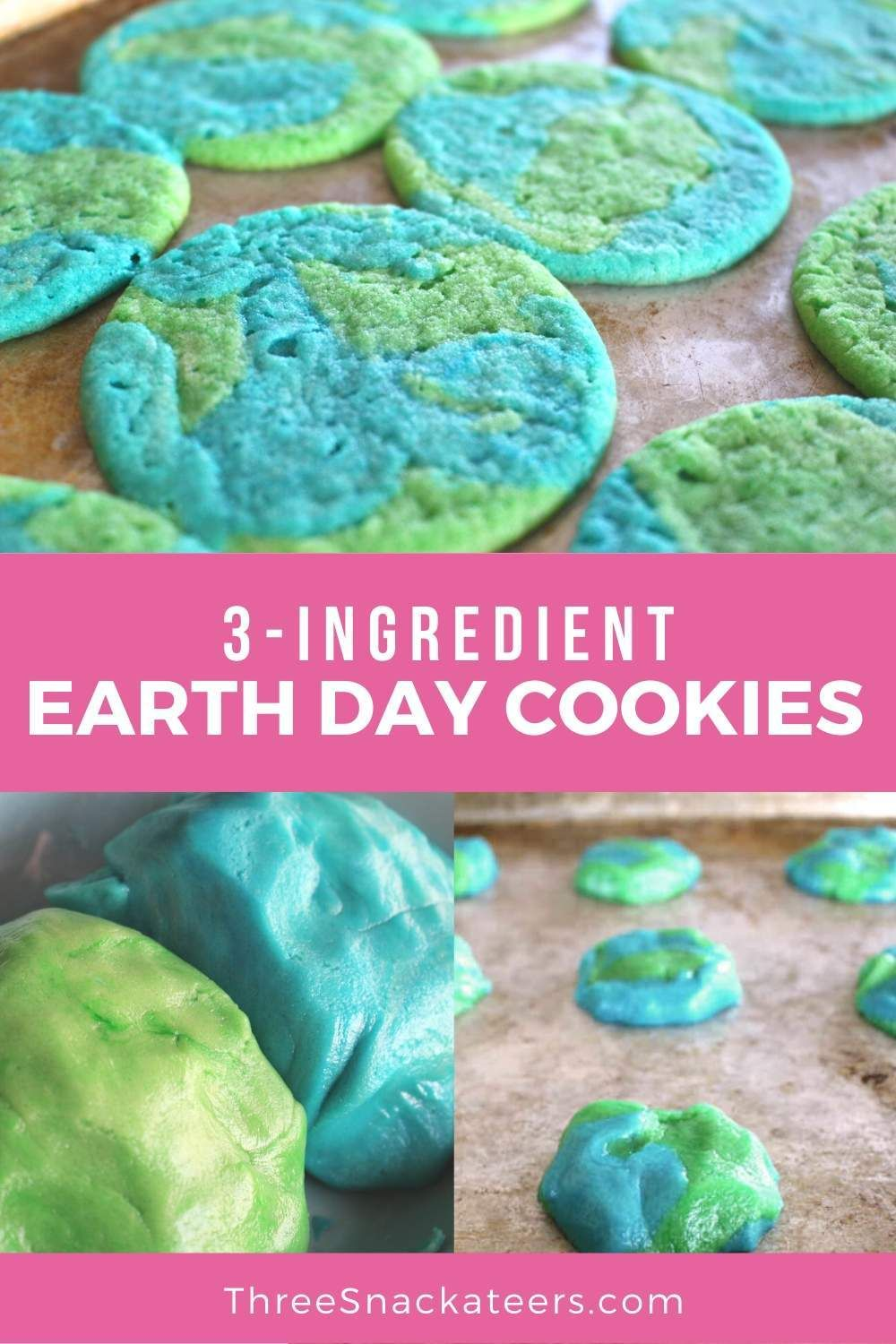 3 Ingredient Earth Day Sugar Cookies Recipe Step By Step With Photos Recipe In 2020 Homemade Sugar Cookies Recipe Homemade Sugar Cookies Cookie Recipes Decorating