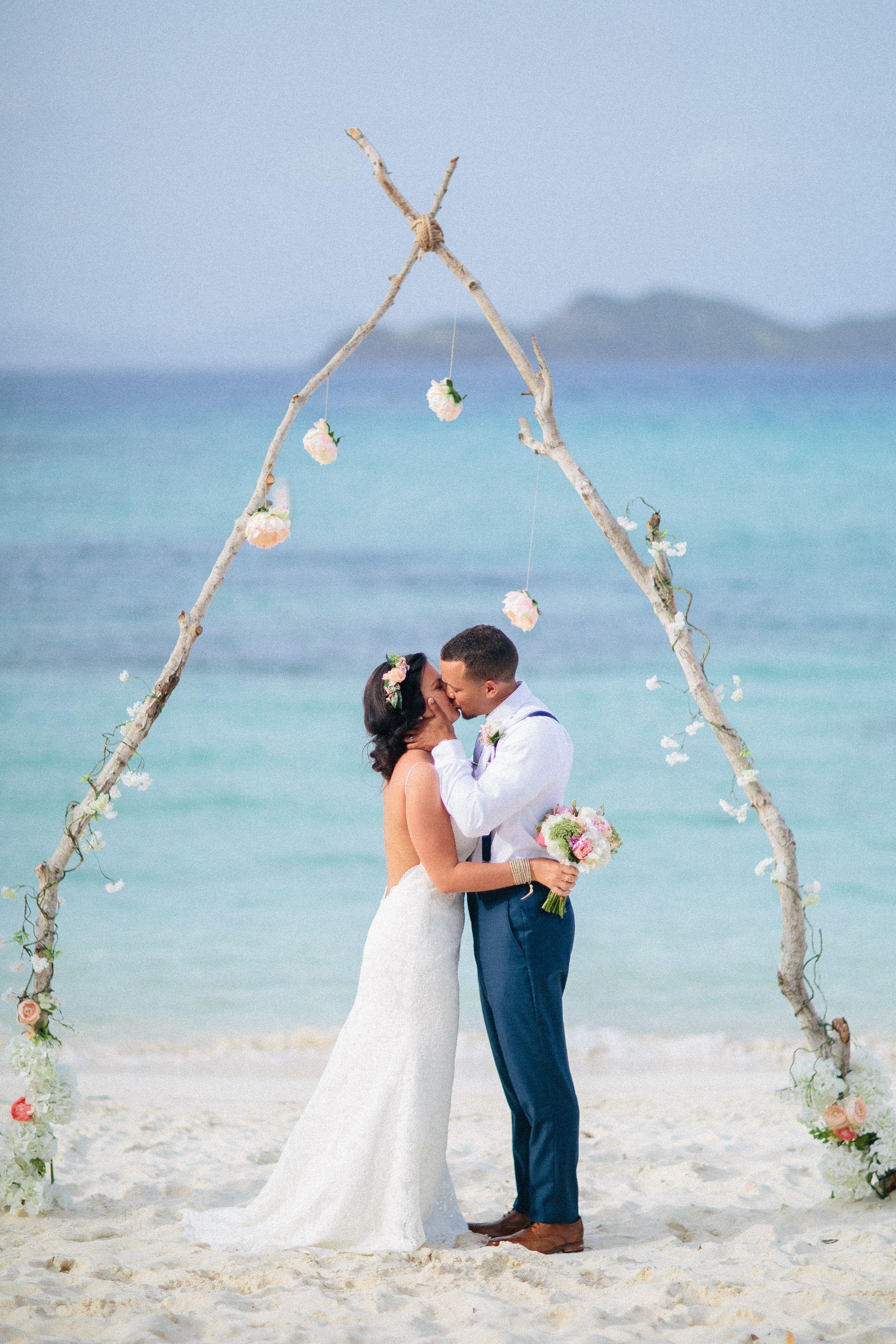 Virgin Islands Destination Wedding Linquist Beach St Thomas Photography Maiko Media Island Destinations Wedding Photo