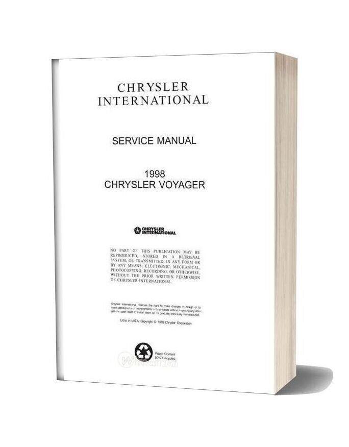 Suzuki Gsx1300r Hayabusa Service Manual 1999 2003 In 2020 Chrysler Voyager Chrysler Voyage