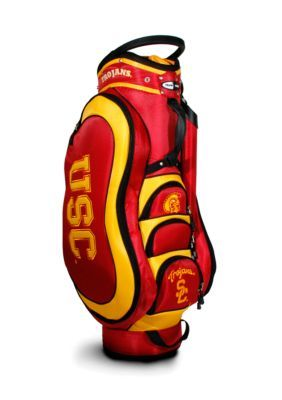 Team Golf Men's Southern California Trojans Medalist Cart Bag - Red - One Size