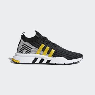 EQT Support Mid ADV Primeknit Shoes Black Mens in 2019