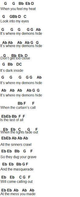 Demons Part 2 More Music Pinterest