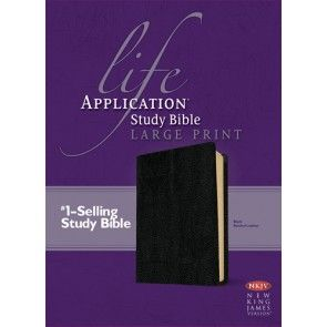 Life Application Study Bible NKJV Large Print Bonded
