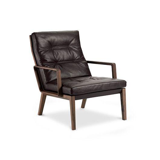 lounge sessel holz leder, walter knoll i andoo lounge | möbel wohnen | pinterest | weiches, Design ideen
